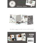 Simple Stories - SNAP Collection - Cardstock Stickers - Wedding