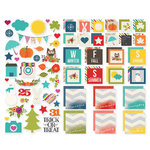 Simple Stories - SNAP Collection - Insta Squares and Pieces - Seasons