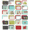 Simple Stories - SNAP Collection - Christmas - 4 x 6 Cards - 'Tis the Season