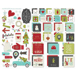 Simple Stories - SNAP Collection - Christmas - Insta Squares and Pieces - 'Tis the Season
