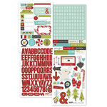Simple Stories - SNAP Collection - Christmas - Cardstock Stickers - 'Tis the Season