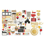 Simple Stories - Say Cheese II Collection - Bits and Pieces with Foil Accents