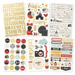 Simple Stories - Say Cheese II Collection - Cardstock Stickers with Foil Accents
