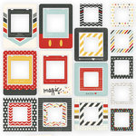 Simple Stories - Say Cheese II Collection - Chipboard Frames