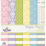 Simple Stories - Enchanted Collection - 12 x 12 Simple Basics Kit