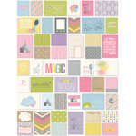 Simple Stories - SNAP Collection - 3 x 4 and 4 x 6 Cards with Foil Accents - Enchanted