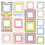 Simple Stories - Enchanted Collection - Chipboard Frames