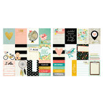 Simple Stories - I AM Collection - 12 x 12 Double Sided Paper - 3 x 4 Journaling Card Elements, COMING SOON