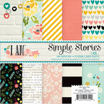 Simple Stories - I AM Collection - 6 x 6 Paper Pad