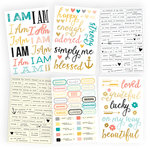 Simple Stories - I AM Collection - Cardstock Stickers, COMING SOON