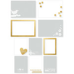 Simple Stories - I AM Collection - Photo Overlays with Foil Accents