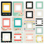 Simple Stories - I AM Collection - Chipboard Frames