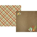 Simple Stories - Pumpkin Spice Collection - 12 x 12 Double Sided Paper - Autumn Splendor
