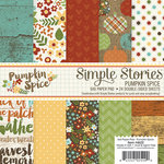 Simple Stories - Pumpkin Spice Collection - 6 x 6 Paper Pad