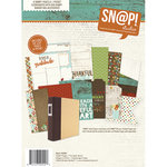 Simple Stories - SNAP Collection - 6 x 8 Journal Insert Pages - Pumpkin Spice