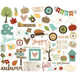 Simple Stories - Pumpkin Spice Collection - Bits and Pieces