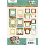 Simple Stories - Pumpkin Spice Collection - Chipboard Frames