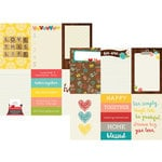 Simple Stories - We Are Family Collection - 12 x 12 Double Sided Paper - 4 x 6 Vertical Journaling Card Elements