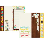 Simple Stories - We Are Family Collection - 12 x 12 Double Sided Paper - 2 x 12, 4 x 12 and 6 x 12 Elements