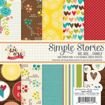 Simple Stories - We Are Family Collection - 6 x 6 Paper Pad