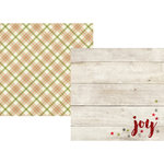 Simple Stories - Claus and Co Collection - Christmas - 12 x 12 Double Sided Paper - Oh Joy