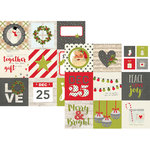 Simple Stories - Claus and Co Collection - Christmas - 12 x 12 Double Sided Paper - 4 x 4 Elements