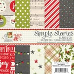 Simple Stories - Claus and Co Collection - Christmas - 6 x 6 Paper Pad