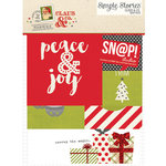 Simple Stories - SNAP Collection - Christmas - 3 x 4 and 4 x 6 Cards - Claus and Co