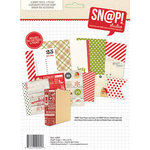 Simple Stories - SNAP Collection - Christmas - 6 x 8 Journal Insert Pages - Claus and Co