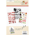 Simple Stories - Claus and Co Collection - Christmas - Photo Stickers