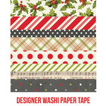 Simple Stories - Claus and Co Collection - Christmas - Washi Paper Tape