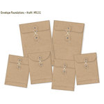 Simple Stories - DIY Collection - Envelope Foundations - Kraft