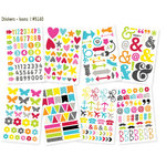 Simple Stories - DIY Collection - Cardstock Stickers - Icons