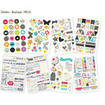 Simple Stories - DIY Collection - Cardstock Stickers - Boutique
