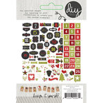 Simple Stories - DIY Christmas Collection - Bits and Pieces - Advent