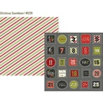 Simple Stories - DIY Christmas Collection - 12 x 12 Double Sided Paper - Christmas Countdown