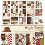 Simple Stories - Cozy Christmas Collection - 12 x 12 Collection Kit