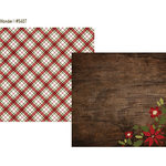 Simple Stories - Cozy Christmas Collection - 12 x 12 Double Sided Paper - Wonder