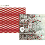 Simple Stories - Cozy Christmas Collection - 12 x 12 Double Sided Paper - Let it Snow
