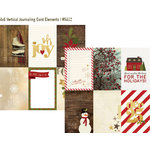 Simple Stories - Cozy Christmas Collection - 12 x 12 Double Sided Paper - 4 x 6 Vertical Journaling Card Elements