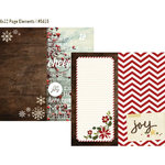 Simple Stories - Cozy Christmas Collection - 12 x 12 Double Sided Paper - Page Elements