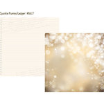 Simple Stories - Cozy Christmas Collection - 12 x 12 Double Sided Paper - Sparkle Flurries