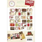 Simple Stories - SNAP Collection - 3 x 4 and 4 x 6 Cards - Cozy Christmas