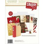 Simple Stories - SNAP Collection - 6 x 8 Journal Insert Pages - Cozy Christmas