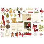 Simple Stories - Cozy Christmas Collection - Bits and Pieces