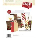 Simple Stories - SNAP Collection - 6 x 8 Recipe Divider Pages - Cozy Christmas