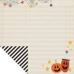 Simple Stories - Frankie and Friends Collection - Halloween - 12 x 12 Double Sided Paper - Oct 31