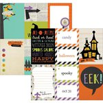 Simple Stories - Frankie and Friends Collection - Halloween - 12 x 12 Double Sided Paper - 3 x 4 and 4 x 6 Journaling Card Elements