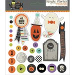 Simple Stories - Frankie and Friends Collection - Halloween - Decorative Brads
