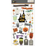 Simple Stories - Frankie and Friends Collection - Halloween - Chipboard Stickers